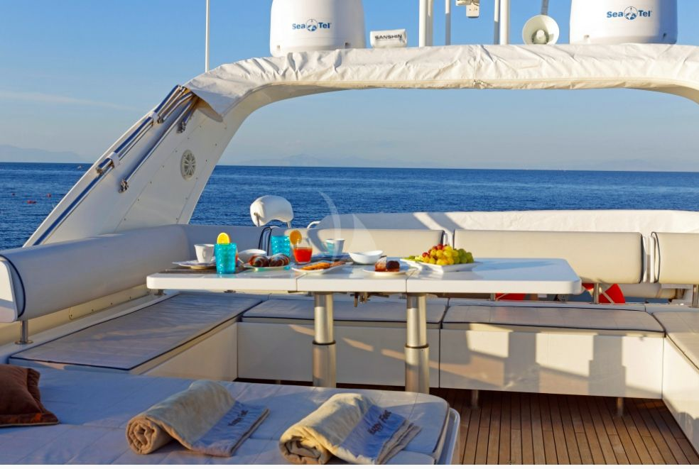 Table on Upper Deck