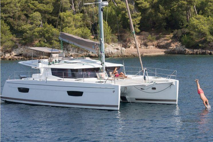 Charter Yacht Fountaine Pajot Helia 44 - 6 Cabins - Mahe,Seychelles