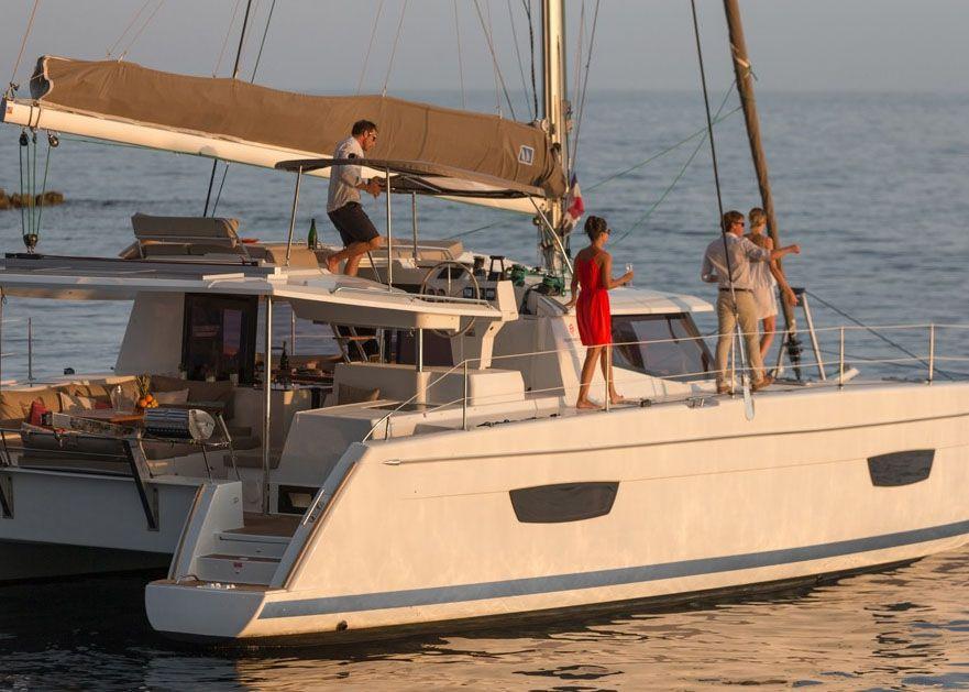 Helia 44 - Sailing
