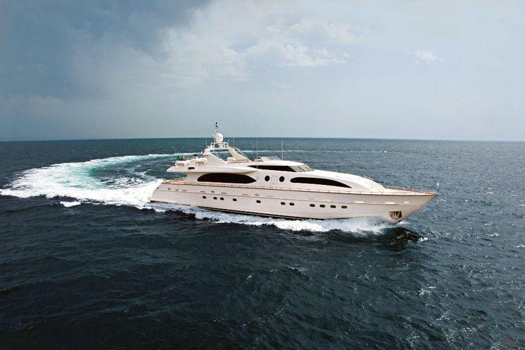 Charter Yacht HELIOS - Falcon 115 - 5 Cabins - Athens - Rhodes - Corfu