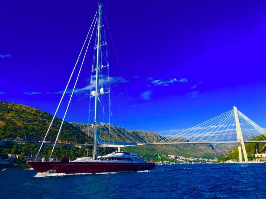 HELIOS - Perini Navi 45m - 4 Cabins - Leeward Islands - Virgin Islands - Croatia - Sicily
