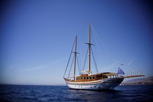 HERMINA - Custom Build 31m - 5 Cabins - Athens - Mykonos - Paros