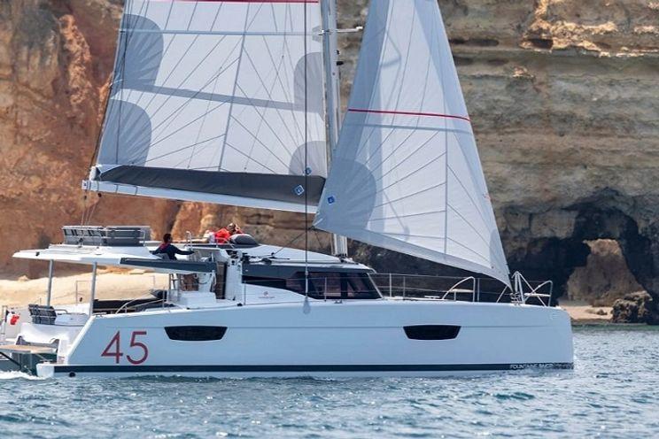 Charter Yacht OV - Fountaine Pajot Elba 45 - 5 Cabins - BVI - Tortola - Virgin Islands