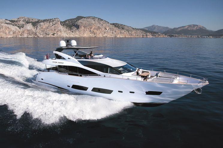 Charter Yacht HIGH ENERGY - Sunseeker 28m - 4 Cabins - Cannes - Monaco - St Tropez