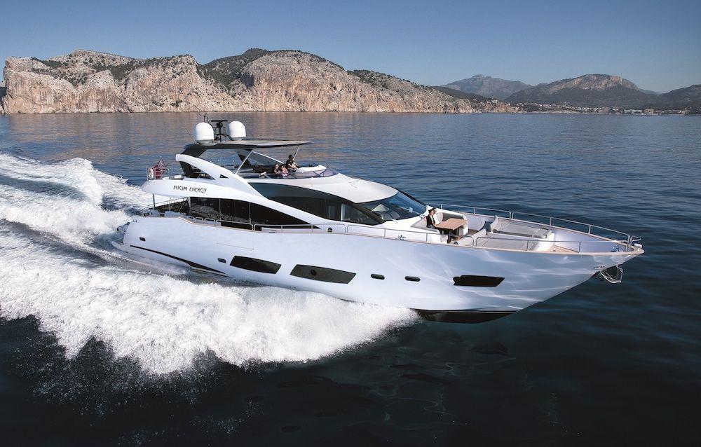 HIGH ENERGY - Sunseeker 28m - 4 Cabins - Cannes - Monaco - St Tropez