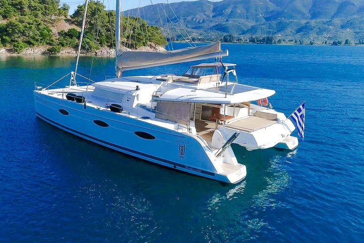 Charter Yacht HIGHJINKS II - Fountaine Pajot Sanya 57 - 5 Cabins - Athens - Mykonos - Lefkas
