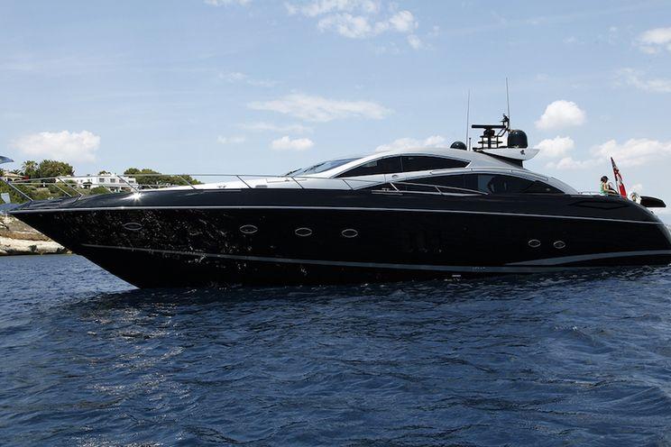 Charter Yacht HOOLIGAN - Sunseeker Predator 82 - 4 Cabins - Palma - Mallorca - Ibiza Port - Formentera