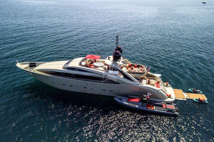 Charter Yacht HOOLIGAN II - ISA 120 - 5 Cabins - Monaco - Antibes - St Tropez