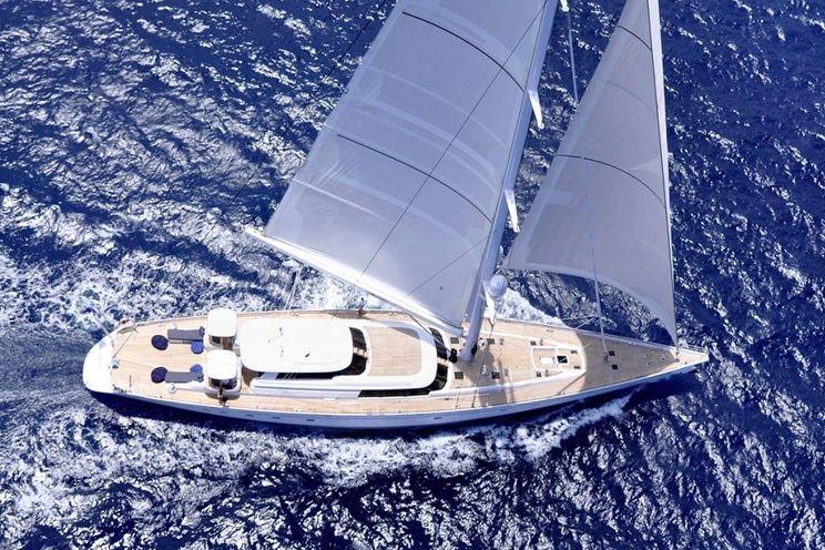 Charter Yacht HYPERION - Royal Huisman 47m - 3 Cabins - Bahamas - Leeward Islands - Windward Islands