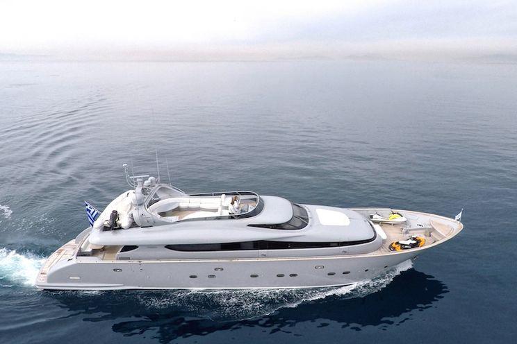 Charter Yacht IF - Maiora 31m - 4 Cabins - Athens - Mykonos - Milos
