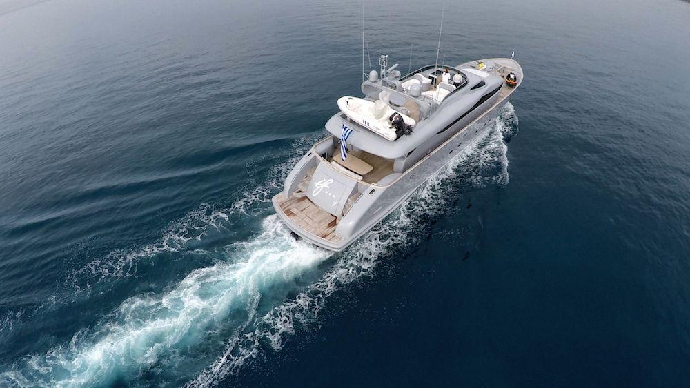 Maiora Motor Yacht IF Running