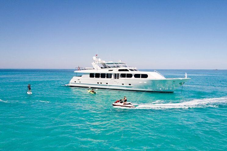 Charter Yacht IL CAPO - Broward Marine 110 - 4 Cabins - Bahamas - Nassau - Freeport - Georgetown - Abacos