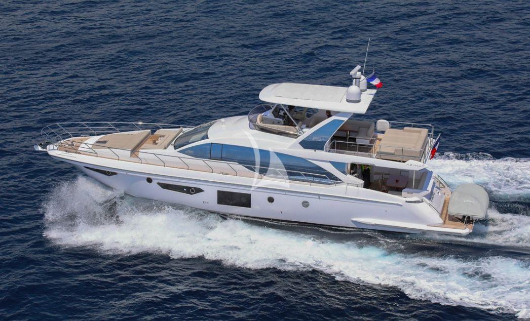 IMAGINE - Azimut 68 Flybridge - 4 Cabins - St Tropez - Cannes - Monaco - Cap Ferrat