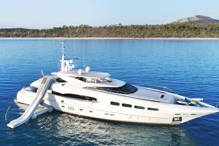 Charter Yacht INFINITY PACIFIC - Mondomarie 40m - 5 Cabins - Sydney - Australia