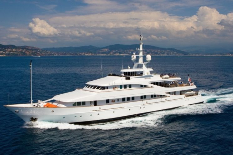 Charter Yacht INSIGNIA - 56m Elsflether Werft AG - 7 Cabins - Athens - Kos - Bodrum