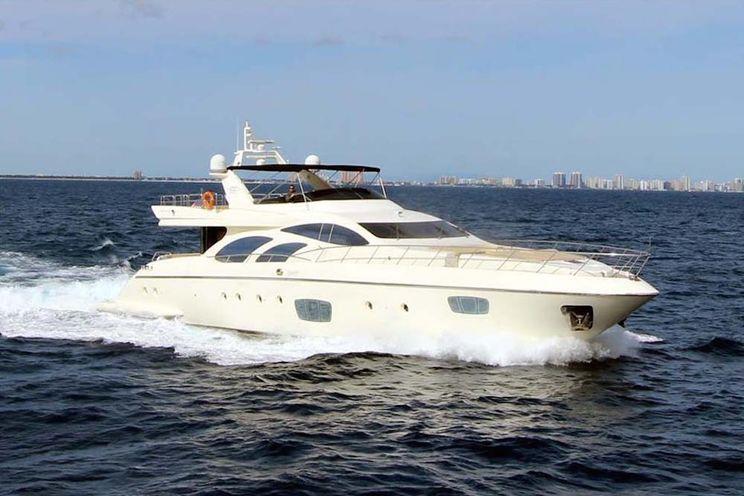 Charter Yacht INTERVENTION - Azimut 100 - 4 Cabins - Bahamas - Florida - New England - Miami - Fort Lauderdale