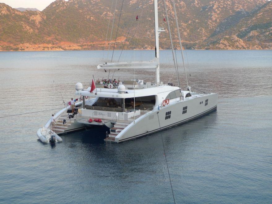 IPHARRA - Sunreef 102 - 5 Cabins - Amalfi Coast - Split - Kotor - St Tropez - BVI