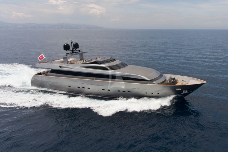 Charter Yacht IROCK - Baglietto 112 - 5 Cabins - Cannes - Monaco - St Tropez - Antibes - Porto Cervo