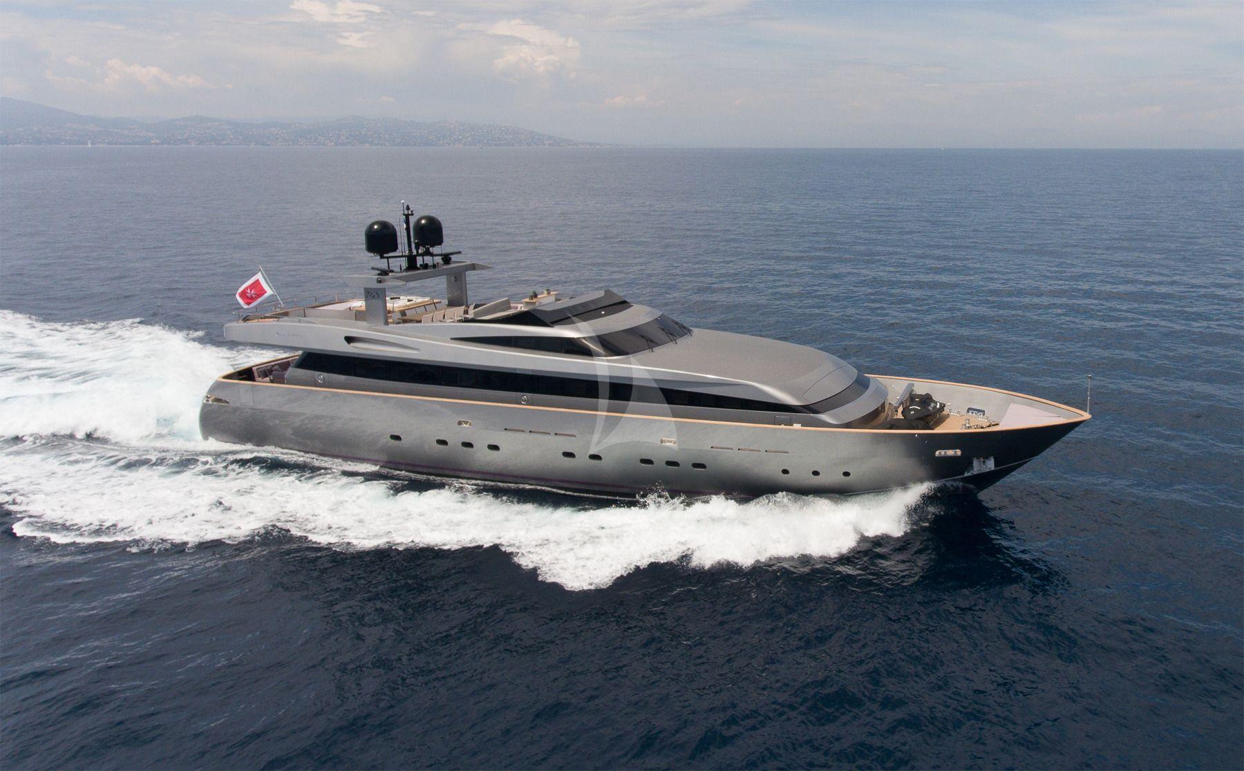 IROCK - Baglietto 112 - 5 Cabins - Cannes - Monaco - St Tropez - Antibes - Porto Cervo