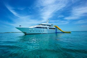 ISLAND HEIRESS - Cheoy Lee 145 - Bahamas - Nassau - Staniel Cay - Georgetown - Exumas