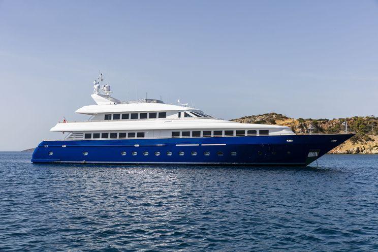 Charter Yacht JAAN - Intermarine SPA  138 - 6 Cabins - Santorini- Athens - Dubrovnik - Split