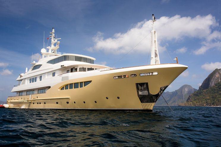 Charter Yacht JADE 959 - 52m Jade Yachts - 6 Cabins - Naples - Sicily - French Riviera - Corsica - Sardinia