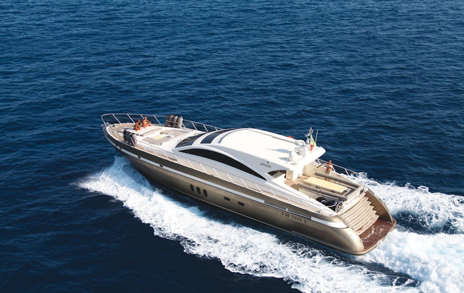 Jaguar 76 - Day Charter - Poltu Quatu - Sardinia - Italy