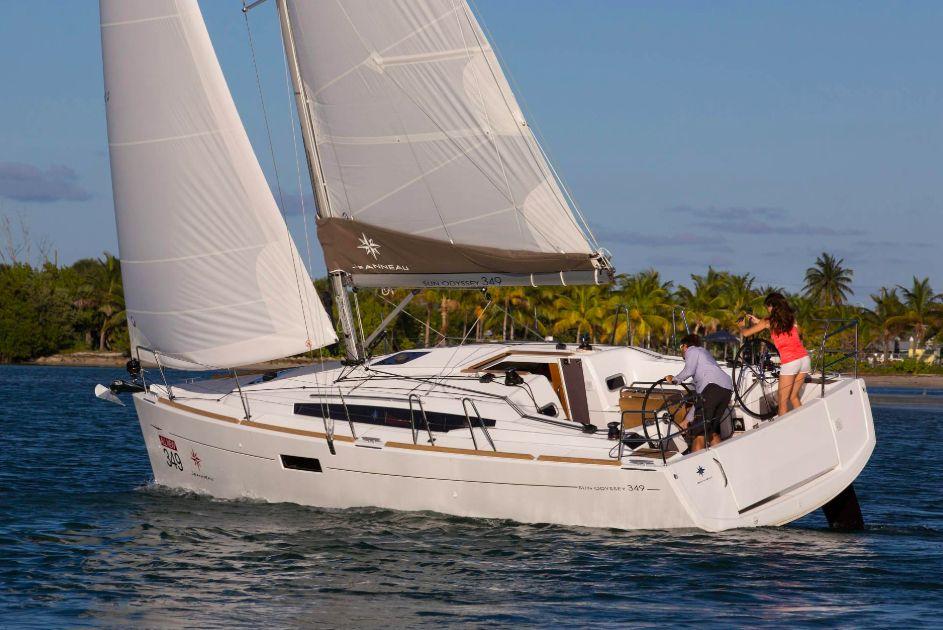 Jeanneau Sun Odyssey 439 - 3 Cabins - Tahiti,Bora Bora and the South Pacific