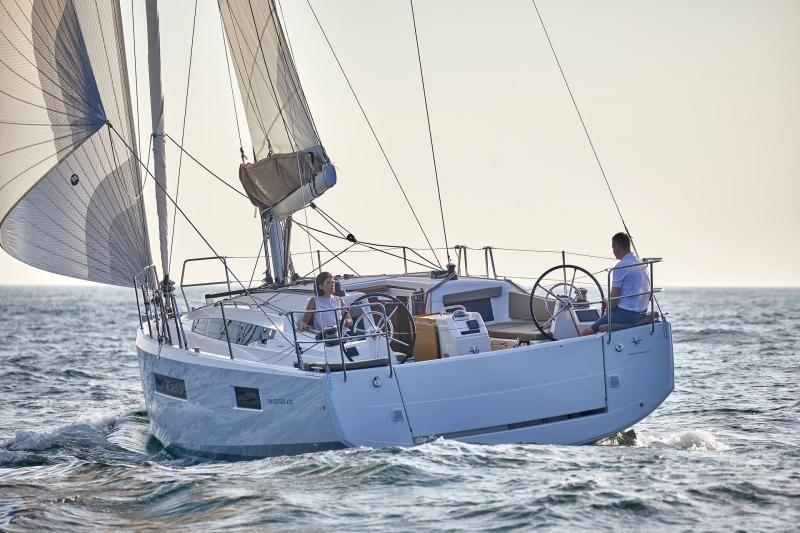 Jeanneau Sun Odyssey 410 Aft