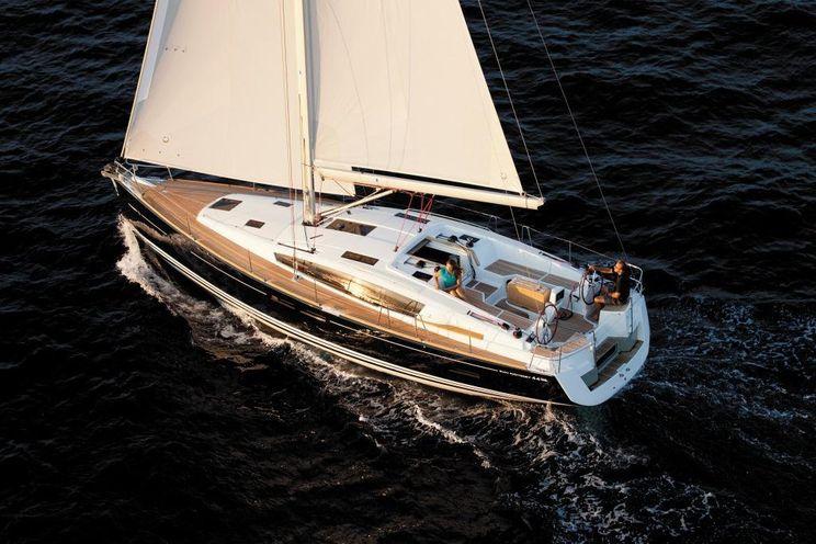 Charter Yacht Jeanneau Sun Odyssey 44DS - 2 Cabins - 2013 - Annapolis - Nassau