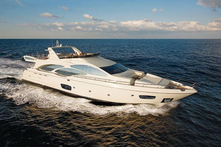 Charter Yacht KOUKLES - Azimut 30m - 4 Cabins - Athens - Hydra - Mykonos