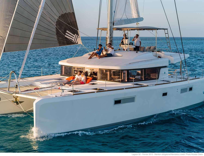 JOY - Lagoon 52 - 3 Cabins - Tortola - St Martin - Guadeloupe - Grenadines