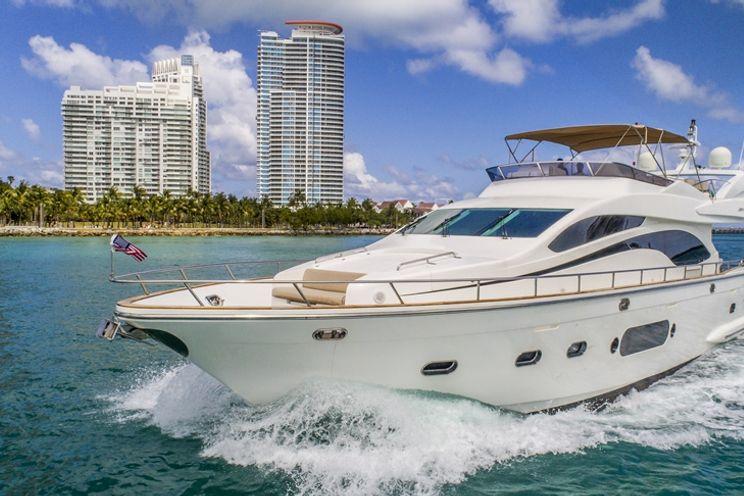 Charter Yacht Joyce 84 Flybridge - Day Charter - 2008 - Miami - Ft Lauderdale - Florida