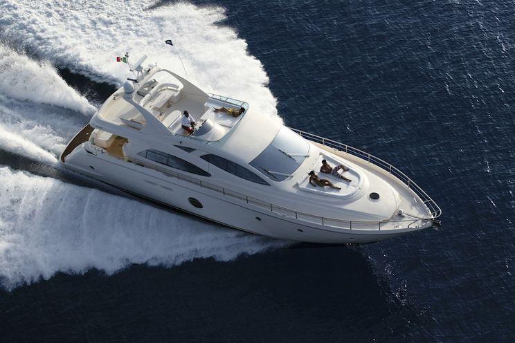 Charter Yacht JULY - Aicon 20m - 4 Cabins - Athens - Mykonos - Milos - Cyclades