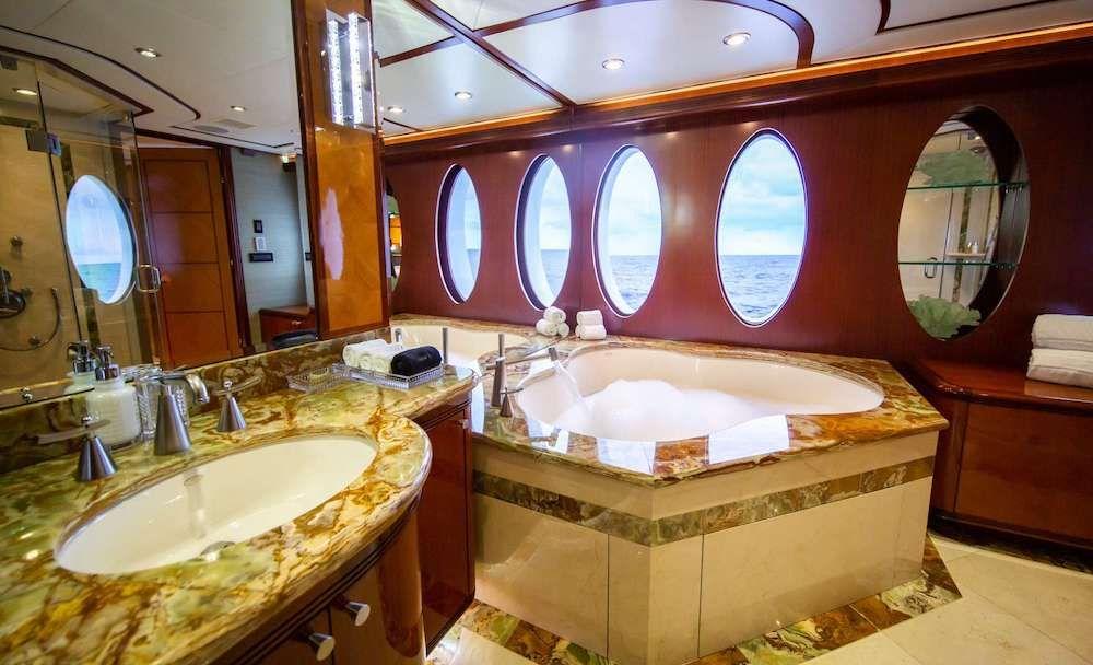 JUST ENOUGH Motor Yacht Master Bath