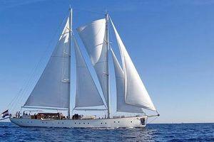 KAIROS - 38m Schooner - 9 Cabins - Monaco - French Riviera - Italian Riviera - Caribbean