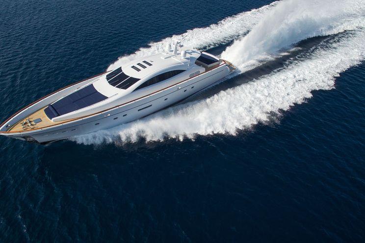 Charter Yacht KAMBOS BLUE - Italcraft 105 - 4 Cabins - Athens - Lefkas - Mykonos