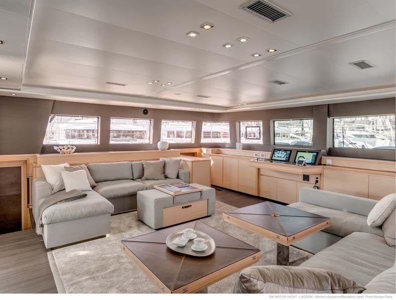 KASKAZI FOUR Lagoon 620 Luxury Catamaran Lounge