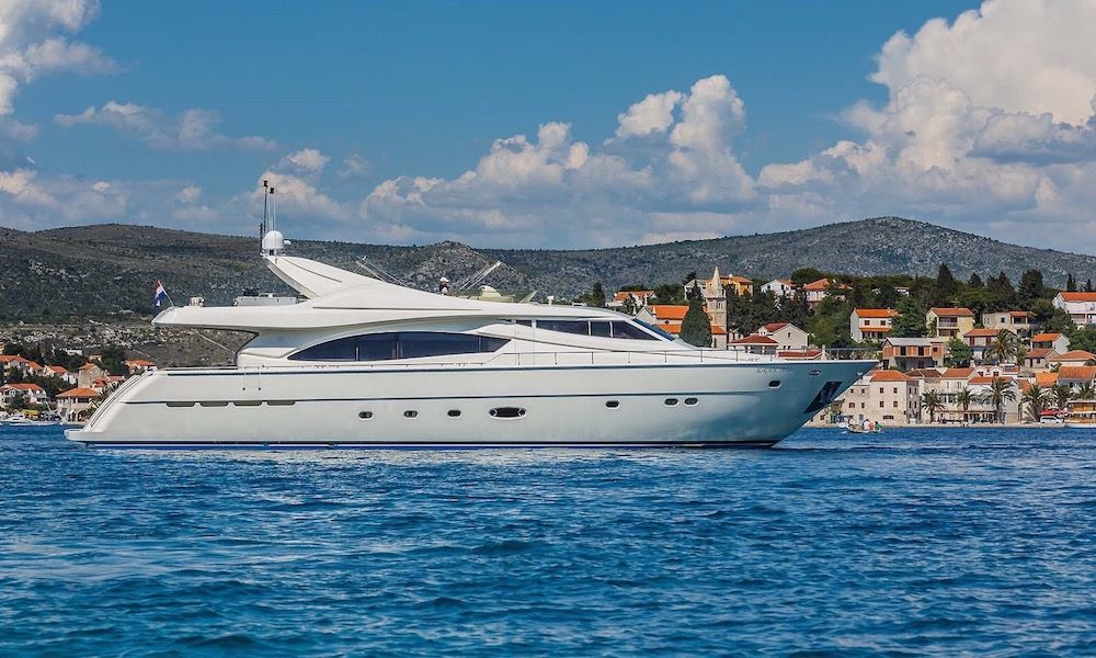 Luxury Crewed Motor Yacht KATARIINA in Split - Croatia View