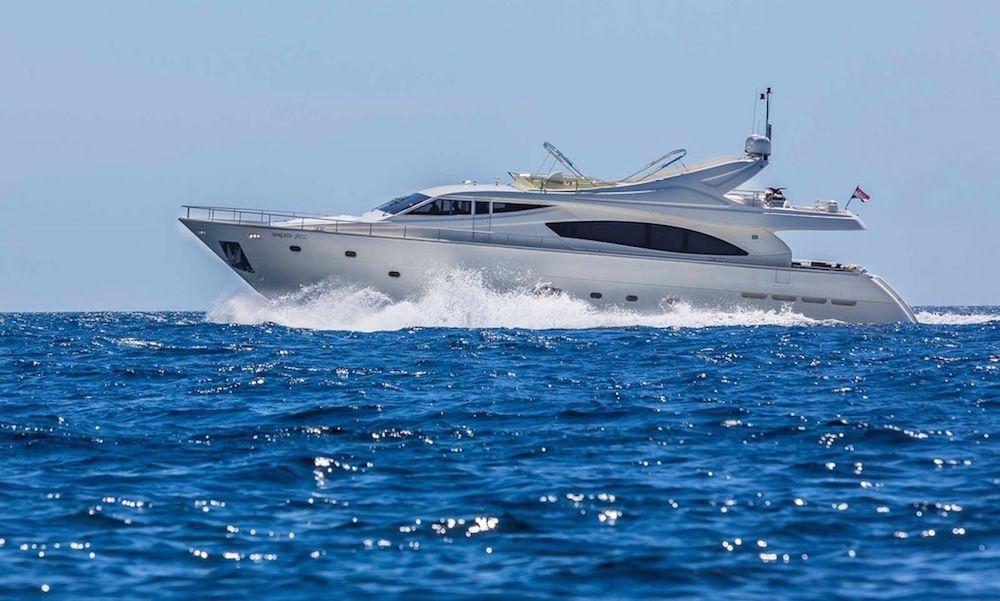 Luxury Crewed Motor Yacht KATARIINA in Split - Cruising