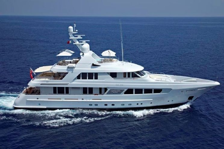 Charter Yacht KATHLEEN ANNE - Feadship 39m - 5 Staterooms - Split - Dubrovnik - Croatia: