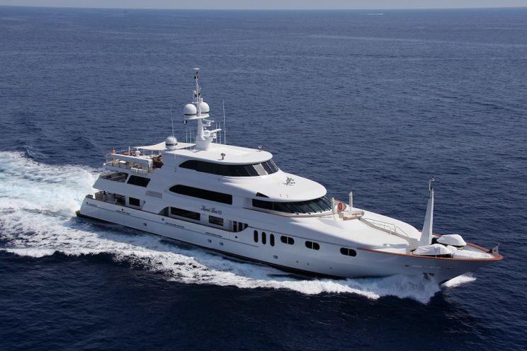 Charter Yacht KERI LEE III - Trinity 54m - 6 Cabins - Naples - Porto Cervo - Monaco - Leeward Islands - Bahamas