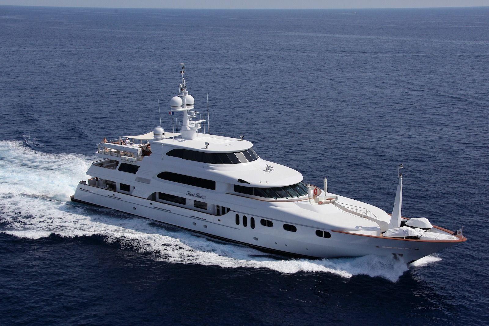 KERI LEE III - Trinity 54m - 6 Cabins - Naples - Porto Cervo - Monaco - Leeward Islands - Bahamas