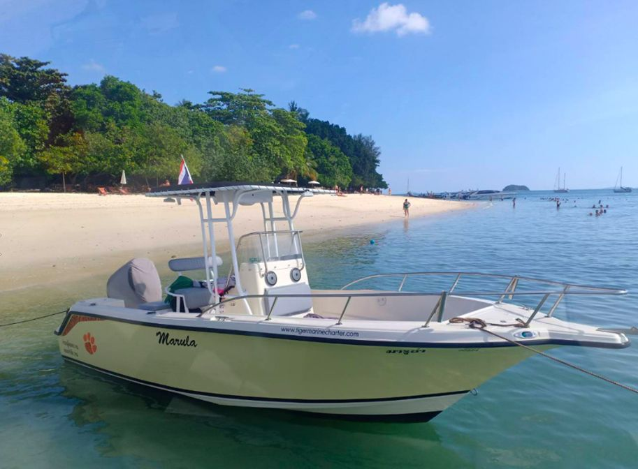 Key West 23 – Speedboat - Day Charter 4 guests - Phuket, Thailand Private Cruise