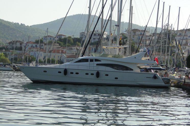 Charter Yacht KIALOA - Ferretti 20m - 4 Cabins - Athens - Lefkas - Kos - Greece