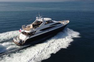 LADY BEATRICE - Princess 30m - 4 Cabins - Cannes - Antibes - Monaco - Villefranche - Nice