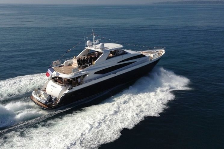 Charter Yacht LADY BEATRICE - Princess 30m - 4 Cabins - Cannes - Antibes - Monaco - Villefranche - Nice