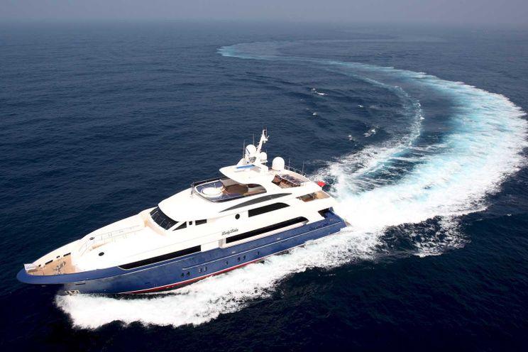 Charter Yacht LADY LEILA - Horizon Yachts 132 - 5 Staterooms - Bahamas - Nassau - Paradise Island - Georgetown