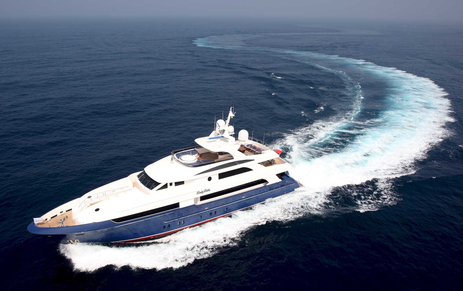 LADY LEILA - Horizon Yachts 132 - 5 Staterooms - Bahamas - Nassau - Paradise Island - Georgetown