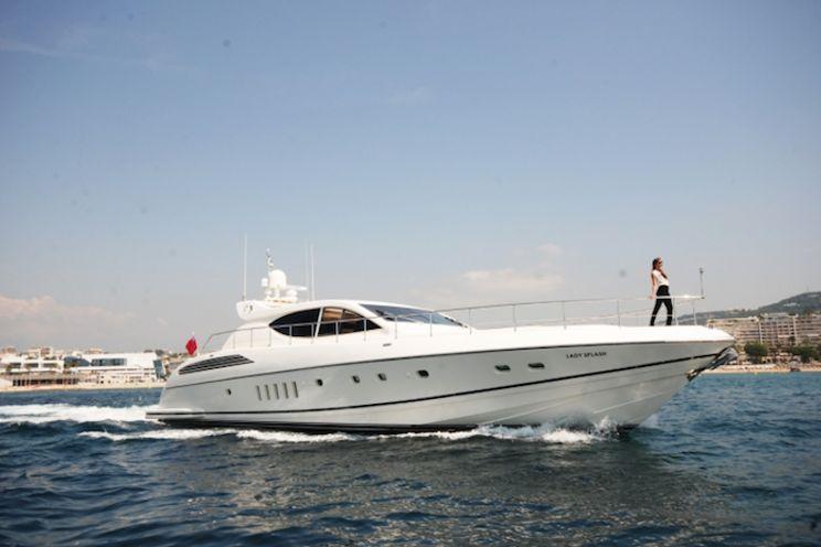 Charter Yacht LADY SPLASH - 24m Leopard - 3 Cabins - Cannes - Corsica - Olbia